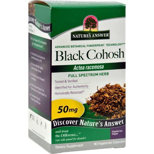 Nature's Answer Black Cohosh Root - 90 caps