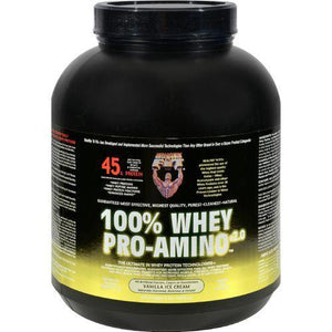 Healthy 'N Fit Nutritionals Whey Pro-Amino Vanilla Ice Cream - 5 lbs