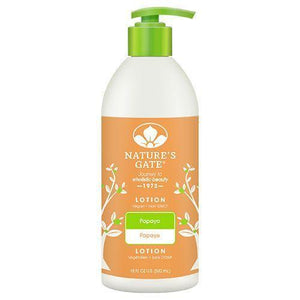 Nature's Gate Moisturizing Lotion Papaya - 18 fl oz