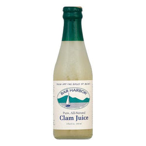 Bar Harbor Clam Juice - Case of 12 - 8 Fl oz.