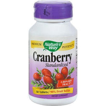 Nature's Way Cranberry Standardized - 60 Tablets