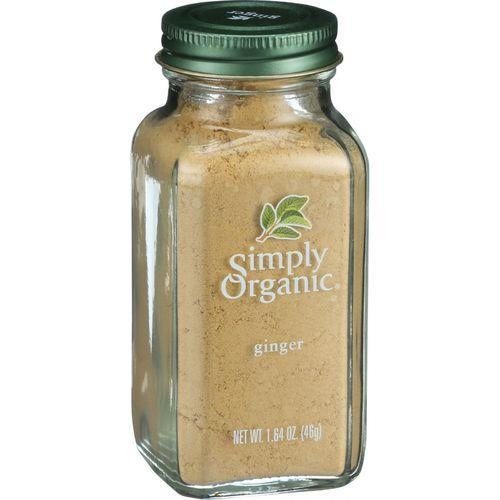 Simply Organic Ginger Root - Organic - Ground - 1.64 oz