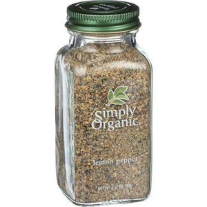 Simply Organic Lemon Pepper - Organic - 3.17 oz