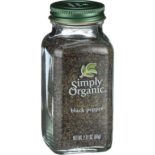 Simply Organic Black Pepper - Organic - Medium Grind - 2.31 oz