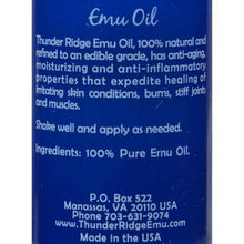 Thunder Ridge Emu Oil - 2 fl oz