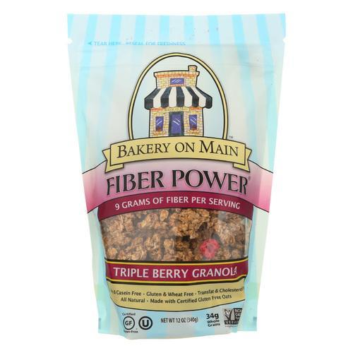 Bakery On Main Triple Berry Fiber Power Granola - Case of 6 - 12 oz.