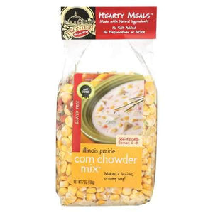 Frontier Soup Chowder - Corn Hearty Meal - Case of 8 - 7 oz