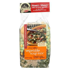 Frontier Soup Soup - Vegetable Hearty Meal - Case of 8 - 7 oz