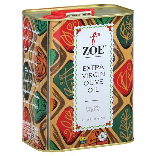 Zoe Olive Oil - Extra Virgin - Case of 6 - 101 Fl oz.