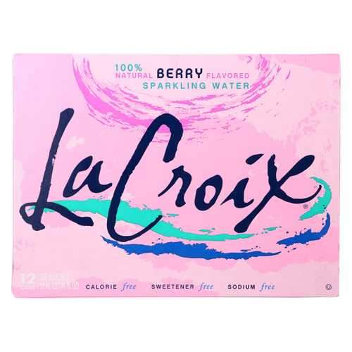 Lacroix Sparkling Water - Berry - Case of 2 - 12 Fl oz.