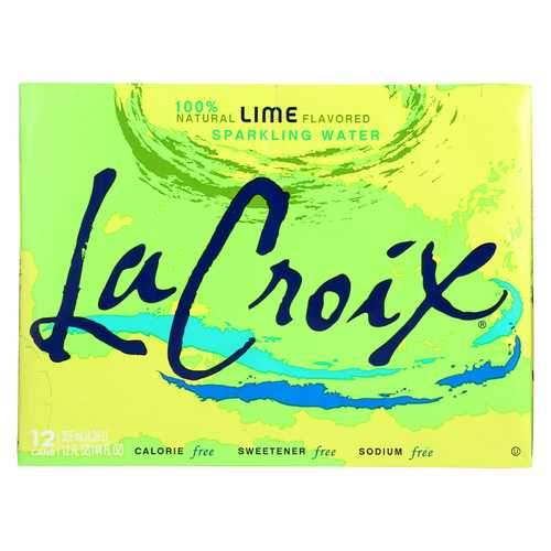 Lacroix Sparkling Water - Lime - Case of 2 - 12 Fl oz.