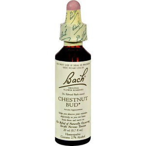 Bach Flower Remedies Essences Chestnut Bud - 0.7 fl oz