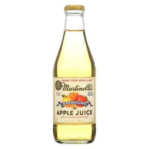Martinelli's Sparkling Apple Juice - Case of 24 - 10 fl oz