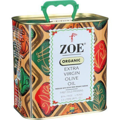Zoe Organic Olive Oil - Extra Virgin - 88 oz