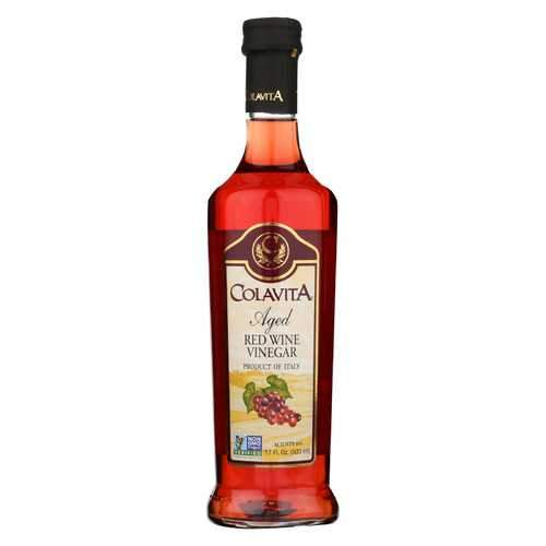 Colavita Aged Red Wine Vinegar - Case of 12 - 17 Fl oz.