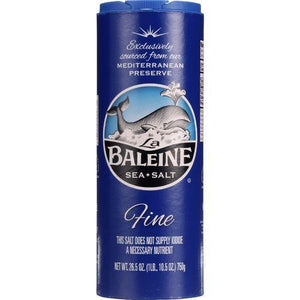La Baleine Sea Salt Sea Salt - Fine - 26.5 oz - 1 each