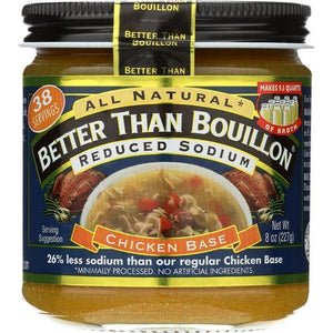 Better Than Bouillon Seasoning - Roasted Chicken Base - Case of 6 - 8 oz.