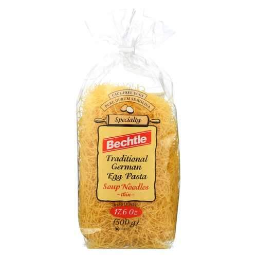 Bechtle Noodles - Fine - Case of 12 - 17.6 oz