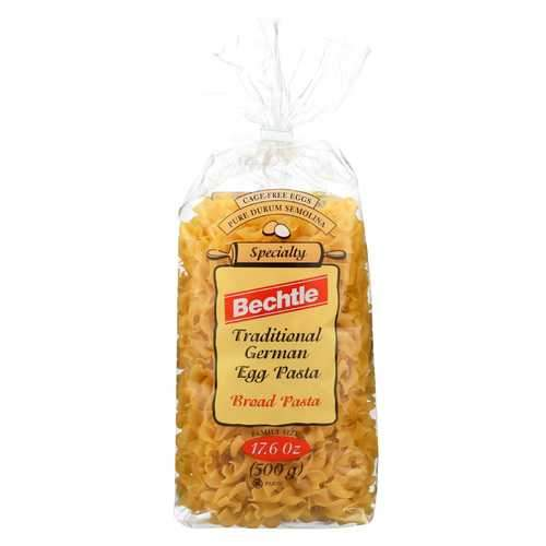 Bechtle Egg Noodle - Broad - Case of 12 - 17.6 oz