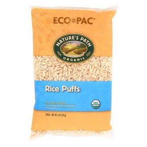 Nature's Path Organic Rice Puffs Cereal - Case of 12 - 6 oz.