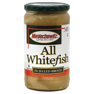 Manischewitz Whitefish in Jelled Broth - 24 oz.