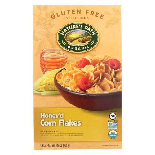 Nature's Path Organic Corn Flakes Cereal -Honey'D - 10.6 oz