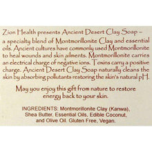 Zion Health Clay Soap - Mountain Rain - 6 oz