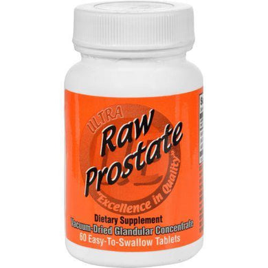 Ultra Glandulars Raw Prostate - 200 mg - 60 Tablets