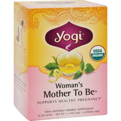 Yogi Tea Woman's Mother To Be - Caffeine Free - 16 Tea Bags