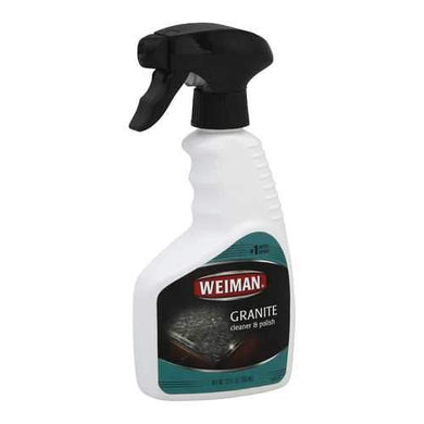Weiman Granite Cleaner and Polish - Case of 6 - 12 Fl oz.