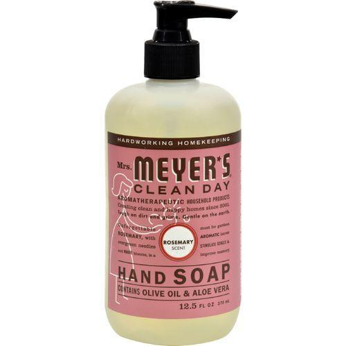 Mrs. Meyer's Liquid Hand Soap - Rosemary - Case of 6 - 12.5 oz