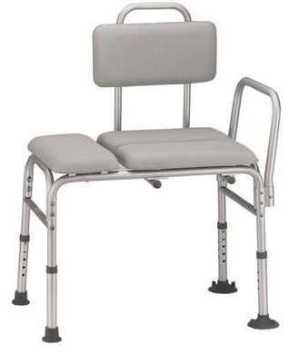 Transfer Bench Padded KD  Gray