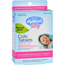 Hylands Homeopathic Baby Colic Tablets - 125 Tablets