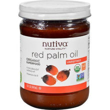 Nutiva Palm Oil - Organic - Superfood - Red - 15 oz - Case of 6