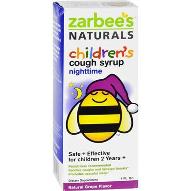 Zarbee's All Natural Children's Nightime Cough Syrup - Grape - 4 oz