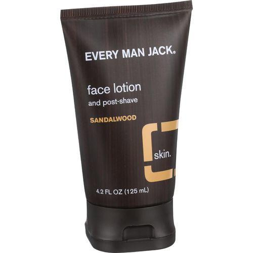 Every Man Jack Face Lotion and Post Shave - Sandalwood - 4.2 oz
