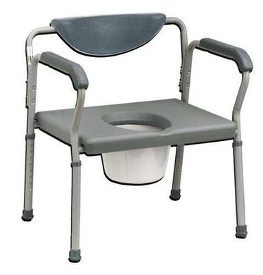 Oversized Commode Deluxe 650# Weight Capacity