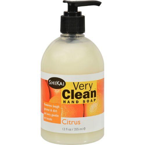 Shikai Products Hand Soap - Very Clean Citrus - 12 oz