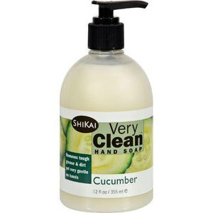 Shikai Products Hand Soap - Very Clean Cucumber - 12 oz
