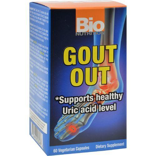 Bio Nutrition Gout Out - 60 Vegetarian Capsules