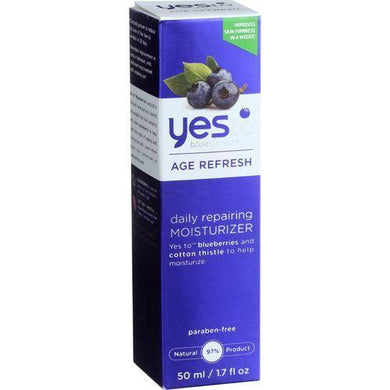 Yes to Blueberries Moisturizer - Daily Repairing - Age Refresh - 1.7 oz