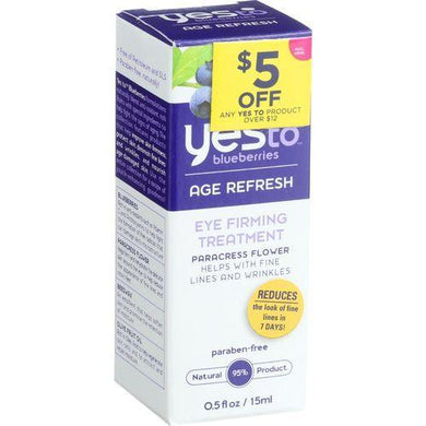 Yes to Blueberries Eye Firming Treatment - Age Refresh - .5 oz
