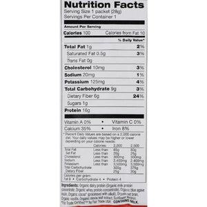 Tera's Whey Hunger Control - Satiety Blend - Fair Trade Certified Dark Chocolate - 12 oz