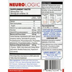 Liquid Health Products NeuroLogic GF - 32 oz