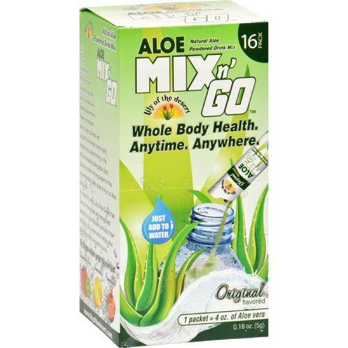 Lily of the Desert Aloe Drink Mix - Mix N Go Original - 16 Packets
