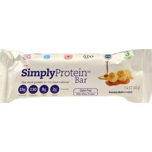 SimplyProtein Bar - Whey - Banana Butterscotch - 40 grams - Pack of 12