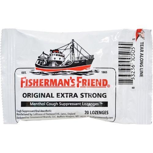 Fisherman's Friend Lozenges - Original Extra Strong - Dsp - 20 ct - 1 Case
