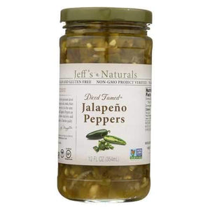 Jeff's Natural Jeff's Natural Jalapeno Peppers - Jalapeno - Case of 6 - 12 Fl oz.