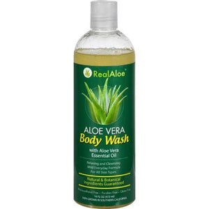 Real Aloe Body Wash - Aloe Vera - 16 fl oz