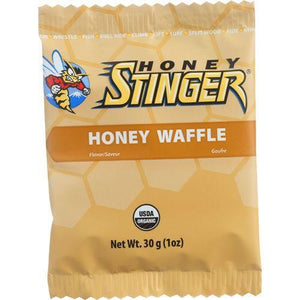 Honey Stinger Waffle - Organic - Honey - 1 oz - case of 16